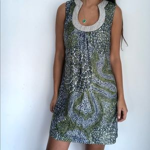 Trina Turk Keyhole Neckline Summer Dress